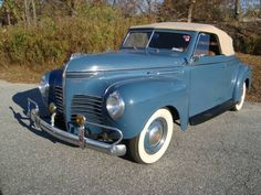 1940 Plymouth Deluxe Maintenance/restoration of old/vintage vehicles: the material for new cogs/casters/gears/pads could be cast polyamide which I (Cast polyamide) can produce. My contact: tatjana.alic14@gmail.com