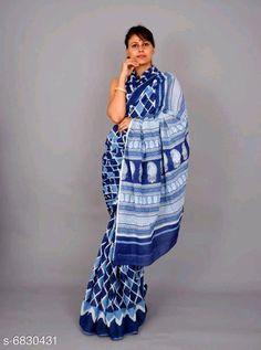 Mumul cotton Saree:Starting ₹810/- free COD whatsapp+919199626046 Cotton Blouses, Cotton Saree, Printed Sarees, Printed Blouse, Block Print Saree, Online Shopping Sarees, Types Of Fashion Styles, Cod, Trendy Fashion