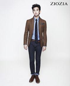 Kim Soo Hyun (김수현) for ZIOZIA (지오지아) 2012 F/W #14 #KimSooHyun #SooHyun #ZIOZIA