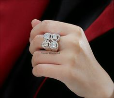 Asscher Diamond Ring 1.50+1.50+1.02+1.04 carat H-I color VVS Asscher Cut Diamond Engagement Ring, Diamond Cuts, Color, Jewelry, Jewlery, Jewerly, Colour, Schmuck, Jewels