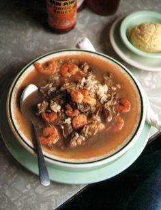 Classic Mardi Gras Recipes-14 - Seafood Gumbo
