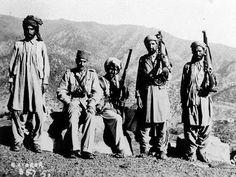 Group Of Pashtun Warriors Anglo Afghan War