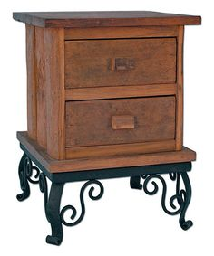 Look what I found on #zulily! Hill Country Two-Drawer Side Table #zulilyfinds