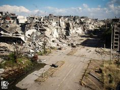 http://www.businessinsider.com/the-total-destruction-of-homs-syria-2013-5
