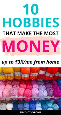 Hobbies For Women, Hobbies To Try, Hobbies That Make Money, Show Me The Money, Ways To Earn Money, Earn Money From Home, Things To Sell, Make Side Money, Money Making Crafts