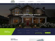 Sheltek - Real Estate PSD Template by DevItems LLC