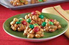 Holiday Magic Peanut Clusters | Loupy's Recipe Box