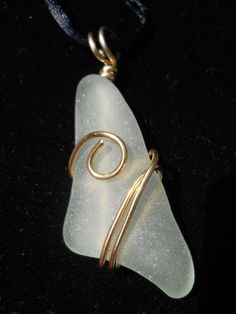 Beach Glass Jewelry Seaglass Necklace by BeachGlassBaubles, $35.00