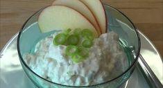 Apfel-Lauchzwiebel-Aufstrich - Rezept von Thermiliscious Eggs, Pudding, Chef, Breakfast, Desserts, Food, Vegetarian Recipes, Hay Diet, Spreads