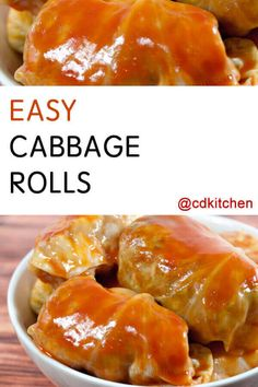 Made with water cabbage ground beef salt and pepper onion instant rice tomato soup Cabbage Rolls Polish, Easy Cabbage Rolls, Cabbage Rolls Recipe, Stuff Cabbage Rolls, Cabbage Roll Sauce, German Cabbage Rolls, Slow Cooker Cabbage Rolls, Cabbage Wraps, Beef Soup Recipes