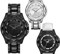 """Karl Lagerfeld's New """"7"""" Watch For Men and Women."""