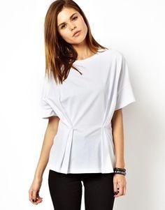 ASOS T-Shirt with Fold Detail