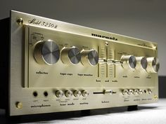 """Even without the """"Kind of Blue"""" glow for which they were known, Marantz design was always top-notch."""