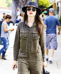 Crystal Reed at a coffee shop in Los Angeles on September 12, 2016