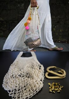 DIY Net Bag Tutorial