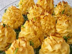 The rosettes of potatoes