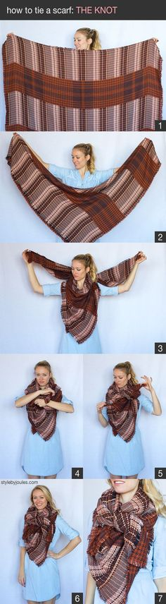 My 9 Favorite (Super Easy) Ways to Tie a Scarf