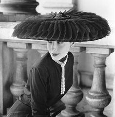 Legroux Soeurs hat, 1959 Norman Parkinson
