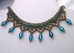Versatile Superduo Beaded Choker Necklace Tutorial - The Beading Gem's Journal