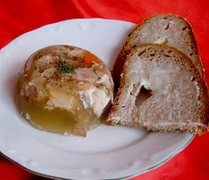 Papa Lehmann's Jellied by iviannabell Ketchup, Baked Potato, Camembert Cheese, Sausage, French Toast, Eggs, Bread, Homemade, Super