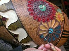 Beautiful use of beads from IndianPaintBrush.art on Facebook
