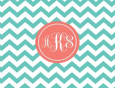 Free Printable Chevron Pattern | of chevron with monogram folded notecards fold 01 1065 a pattern ...