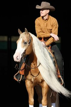Lyle Lovett and his horse, Smart and Shiney