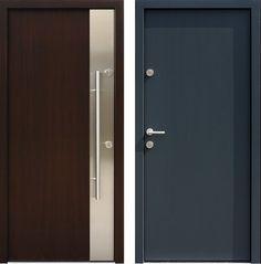 Drzwi wejściowe z kolekcji INOX model 430,6-500C produkcji AFB-Kraków