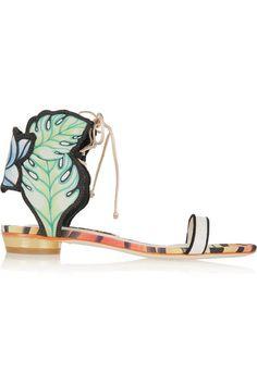 "Sophia Webster ""Rousseau Jungle"" sandals, $480"