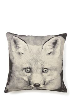 Add a fun fox cushion to your sofa for more woodland style. Fox Tapestry Cushion