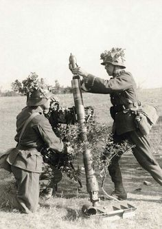 Mortar & crew on Soviet Border 1941