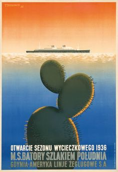 tadeusz trepkowski Polish Movie Posters, Commercial Art, Yesterday And Today, Display Design, Typography Prints, Poster Making, Travel And Leisure, Culture, Vintage Travel