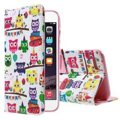 Köp Unique Plånboksfodral iPhone 6/6S ugglor online: http://www.phonelife.se/unique-planboksfodral-iphone-6-6s-ugglor