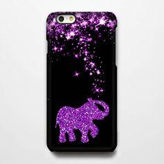 Pink Stars Glitter Elephant iPhone 6 Case/Plus/5S/5C/5/4S Protective C – Acyc