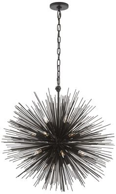 KELLY WEARSTLER | STRADA ROUND PENDANT. Sculptural piece with radiating quills…