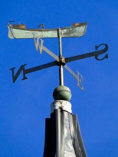 Weathervane Old English Words, Lightning Rod, Weather Vanes, Wind Spinners, Lake Life, Nautical Theme, Coastal Decor, Wind Turbine, Folk Art