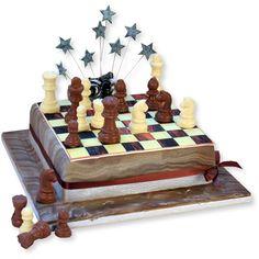 Шахматный торт приготовление фото