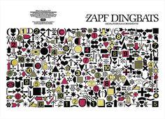 Herman Zapf, Zapf Dingbats, 1978.
