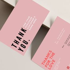 Printable Thank You Cards, Thank You Card Template, Packaging Design, Branding Design, Packaging Ideas, Grafic Design, Clothing Packaging, Fashion Packaging, Typographie Logo