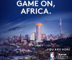 Wow!  You can enter the Marriott Rewards Experiences Marketplace NBA Africa Game 2017 Sweepstakes for a chance to Win a Trip to South Africa August 3-August 11. Includes airfare, hotel, NBA Africa Game Tickets and more.  Want to win? Just enter daily by June 28, 2017 at 11:59 p.m. ET *must be a Marriott reward member to enter (free to join) http://ifreesamples.com/win-trip-south-africa-nba-africa-game-2017/