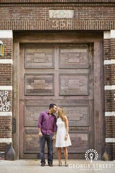 Jen & Sam: Modern & Dreamy New York Engagement Session | George Street Photo & Video