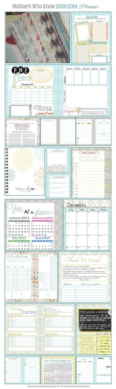 LDS Planners for Moms: The 2014 Planner by sally tb