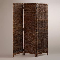 One of my favorite discoveries at WorldMarket.com: Woven Mika Screen $130 Philippines