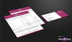 Bill Book & Envelope Designed on Behance  #billbook #design #branding #identity #envelope #jewellery