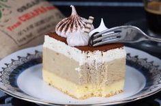 Backen - Kochen & Genießen: Kaffeemousse Schnitten Fun Desserts, Awesome Desserts, Tiramisu, Mousse, Caramel, Cheesecake, Food And Drink, Sweets, Eat