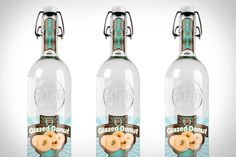 Glazed doughnut vodka?  Now I can combine my two favorite states of mind: drunkenness and gluttony!!
