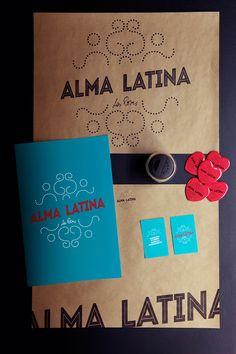 Art of the Menu: Alma Latina  Designed by Quattrolinee