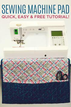 sewing machine pad pinnable