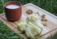 Цветная капуста с ореховым кремом