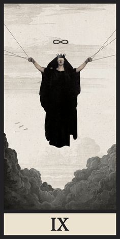 """blackpaint20: """" TAROT IX. Digital collage by Ignacio Cobo submitted by archivospiraticos """""""